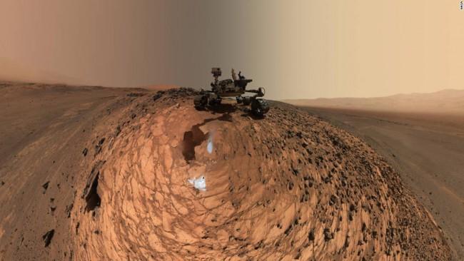 NASA скрывает причину неисправности марсохода Curiosity