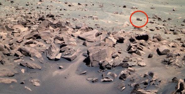 Ботинок на Марсе