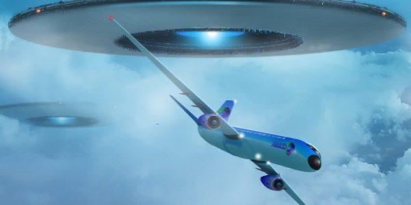 НЛО из самолета