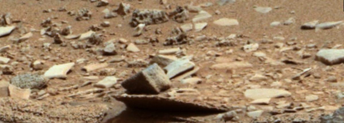 На Марсе обнаружен искусственный объект