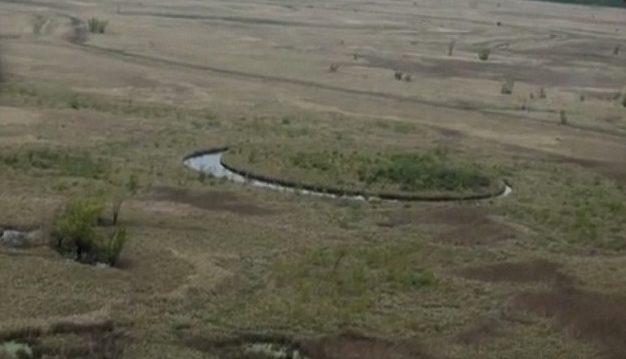 Исследователи заинтересовались вращающимся островом в Аргентине