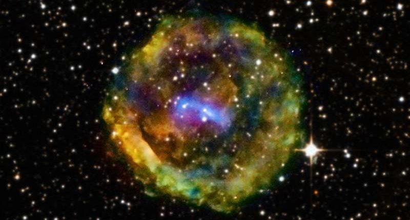 Астрономы определили время, когда произошел видимый с Земли взрыв сверхновой
