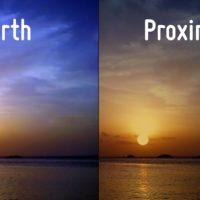Земля и Проксима B