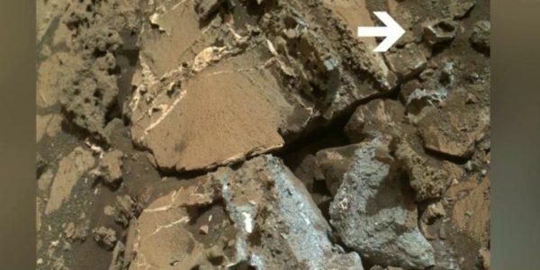 Уфологи обнаружили на Марсе пятигранное золотое кольцо