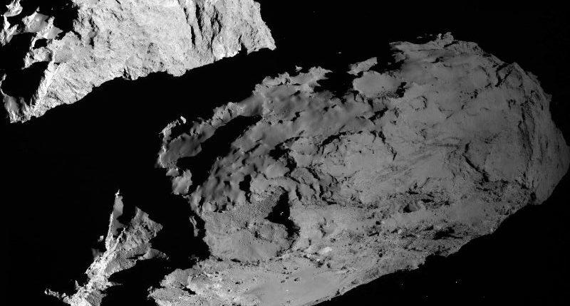 Rosetta приближается к комете Чурюмова-Герасименко