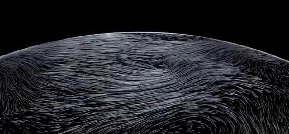 Метеорологические спутники NASA запечатлели необъяснимое природное явление