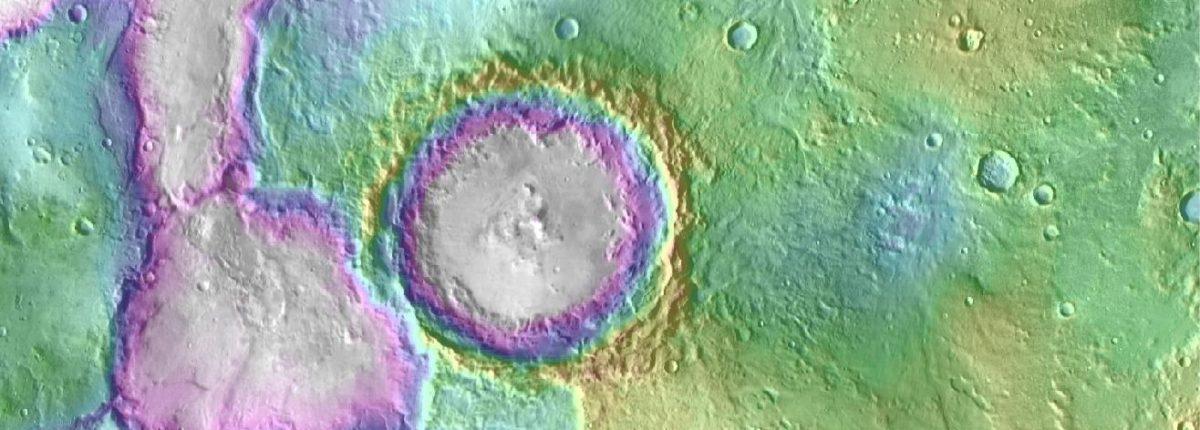 Некоторые озера на Марсе сформировались позже, нежели считалось ранее