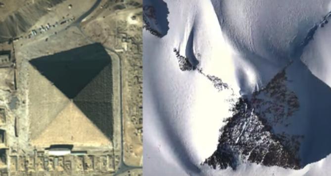 Ученые разгадали тайну происхождения загадочных пирамид в Антарктиде