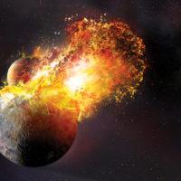 Столкновение Земли с Теей