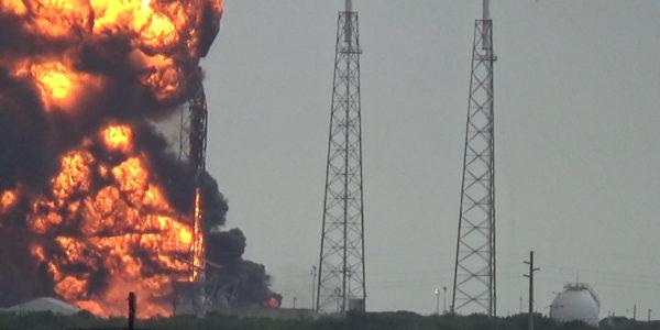Взрыв Falcon 9 09-01-2016