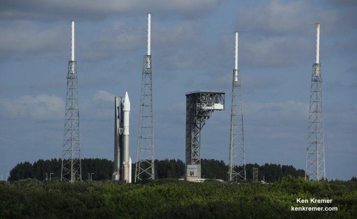Прямая трансляция запуска корабля OSIRIS-REX к астероиду Бенну