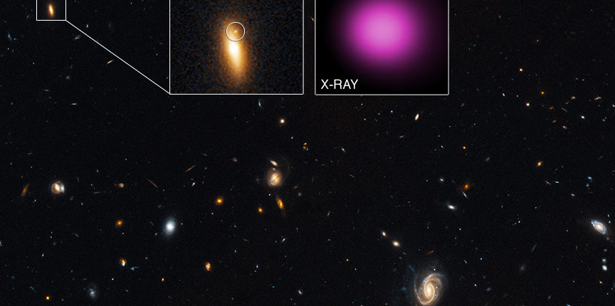 Астрономы обнаружили доказательства существования странствующей черной дыры