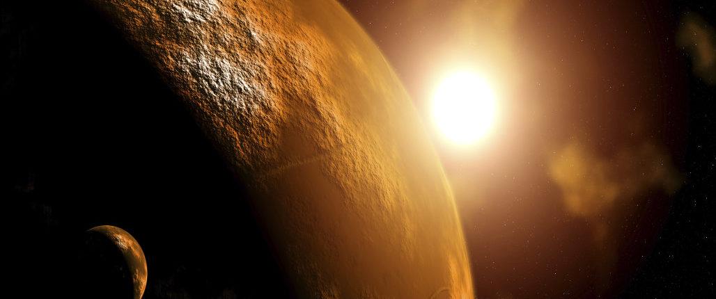 Россия и Европа намерены найти на Марсе жизнь