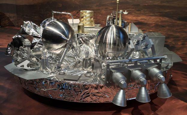 «ЭкзоМарс» приступил к выходу на орбиту Марса