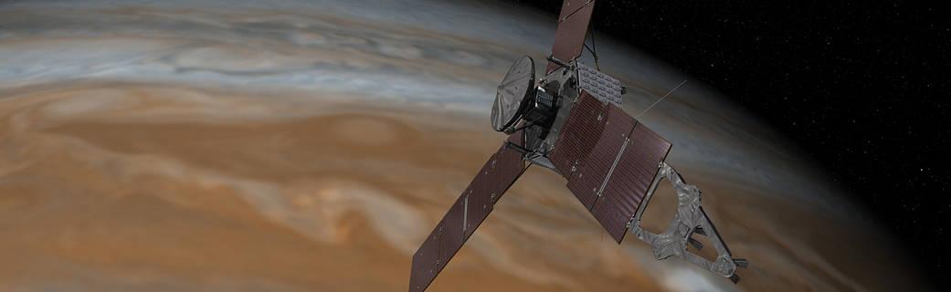 Зонд Juno готовится встретиться с Юпитером в третий раз