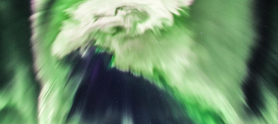 Астрофотограф запечатлел «дракона» над Исландией