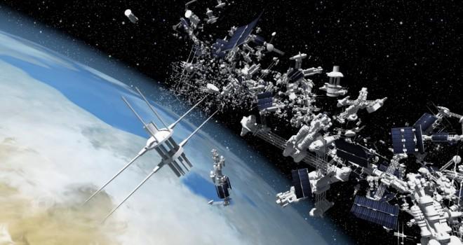 Космический мусор будет отбуксирован на Марс