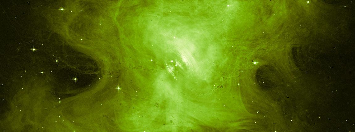 Телескоп «Хаббл» запечатлел «бьющееся сердце» мертвой звезды