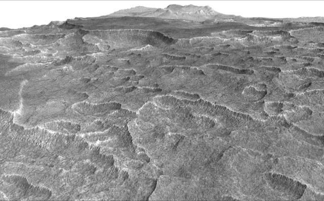 На равнине Марса обнаружено столько же воды, как в озере Верхнее