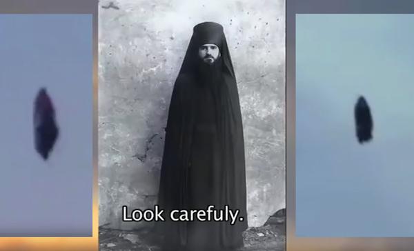 Американские уфологи сравнили НЛО над Санкт-Петербургом с монахом