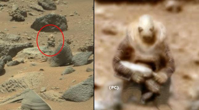 Фотография марсианского солдата вызвала споры в социальных сетях
