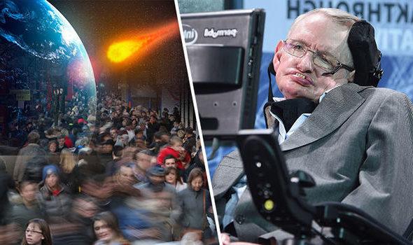 Стивен Хокинг: столкновение астероида с Землей неизбежно