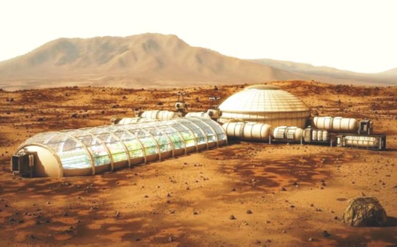 the idea of colonizing mars