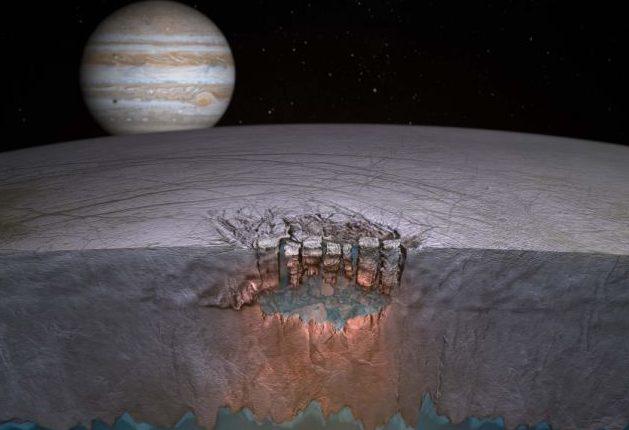 С целью поиска инопланетной жизни NASA планирует «просверлить» Европу