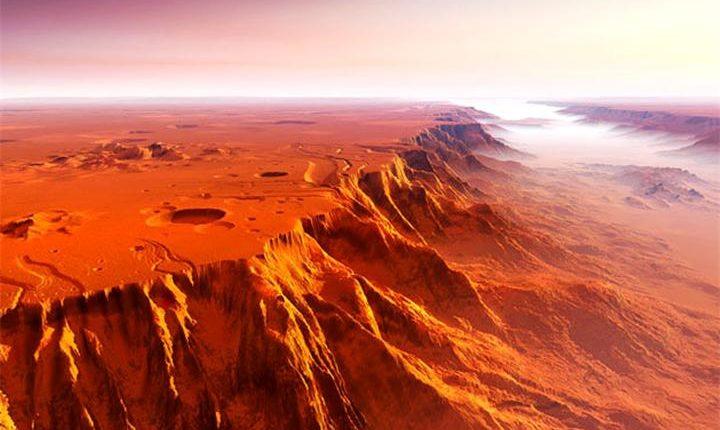 NASA не оставляет попыток обнаружить на Марсе жизнь