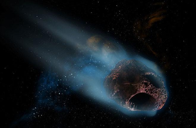 Опасный астероид пролетел между Землей и Луной