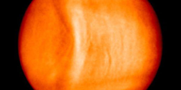 Гравитационная волна на Венере