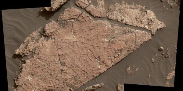Грязь на Марсе