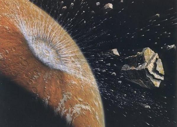 Жизнь на Землю попала с Марса — ученые