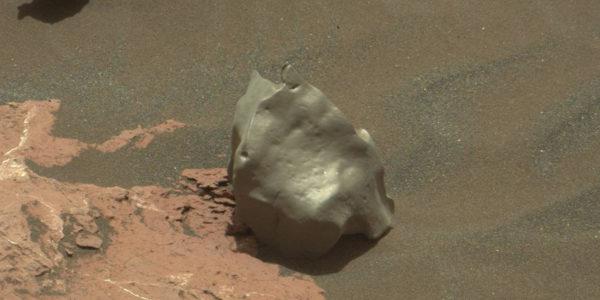Железный метеорит на Марсе