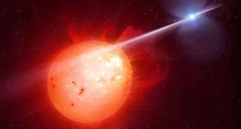 Экстремальная звезда «Черная вдова» идентифицирована как источник загадочного гамма-излучения