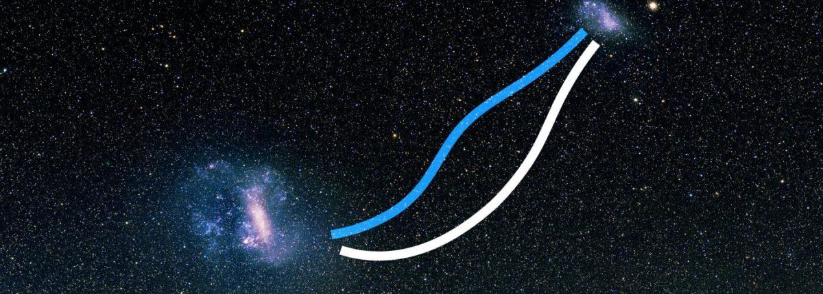 Данные обсерватории Gaia поразили астрономов — Магеллановы Облака соединяет звездный мост