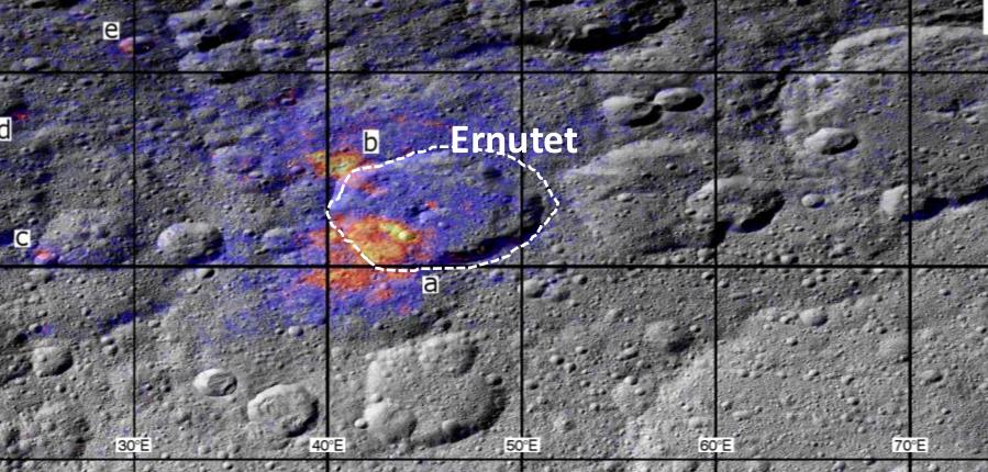 Зонд Dawn обнаружил органические соединения на Церере