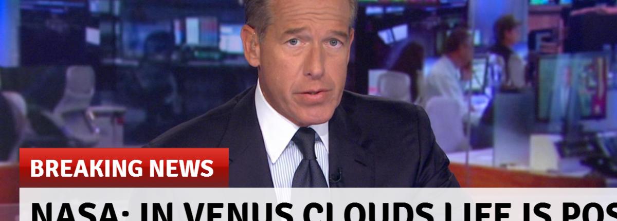 NASA: в облаках Венеры возможно существование жизни