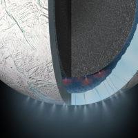 Исследование показывает, что обнаруженный на Энцеладе метан может быть признаком инопланетной жизни