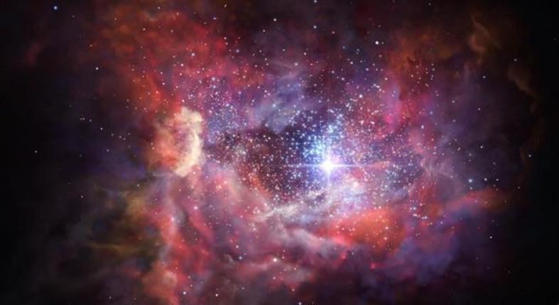 Космическая пыль открывает окно на рассвет Вселенной