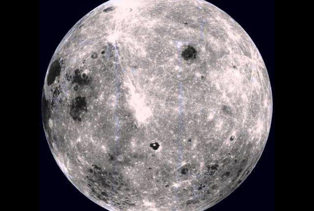 Луна, какой вы ее никогда не видели!