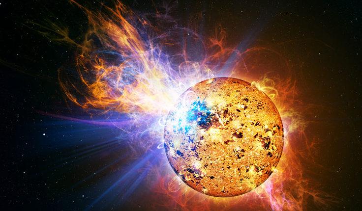 На Солнце обнаружены «планетарные волны»