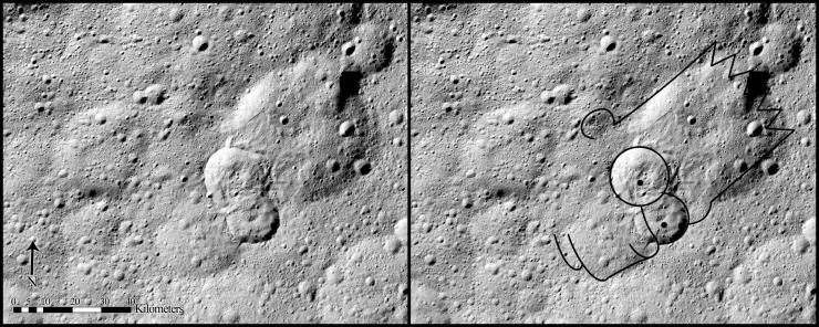 Планетологи обнаружили «голову» Барта Симпсона на поверхности Цереры