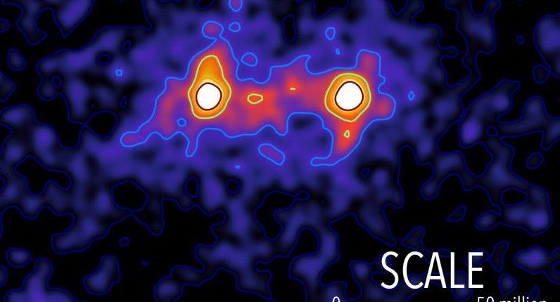 Первое изображение темной материи?