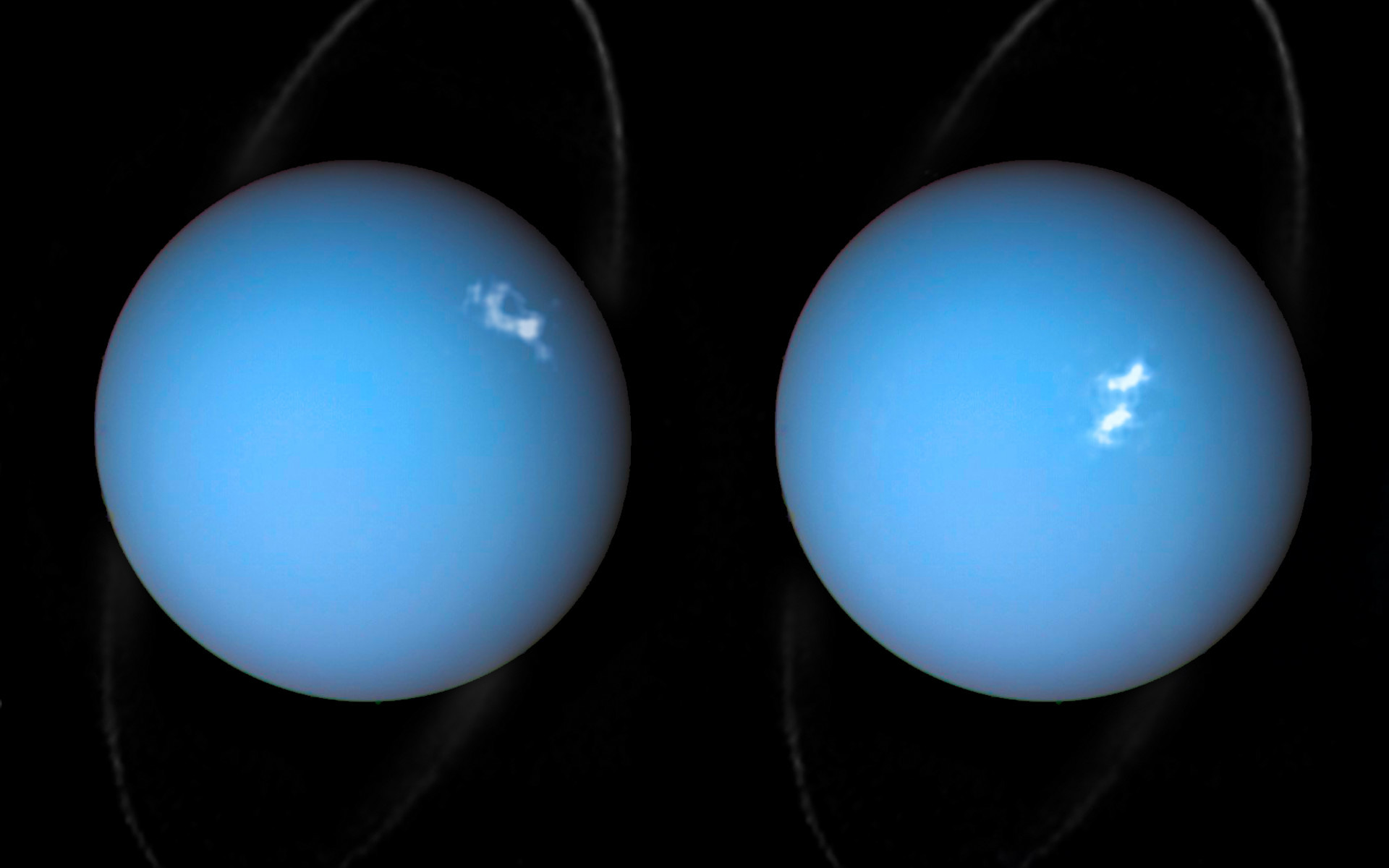 uranus hubble images - HD 1920×1200