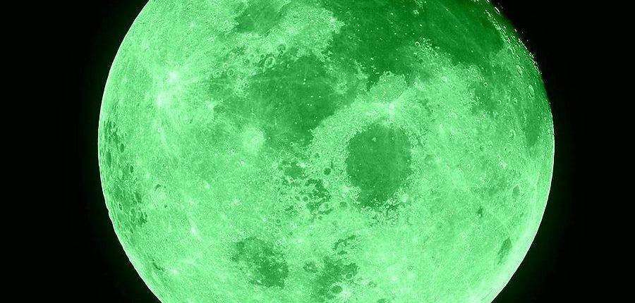 Зеленая Луна 20 апреля 2017 года? Нет!
