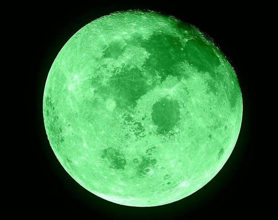 Картинки по запросу зеленая луна
