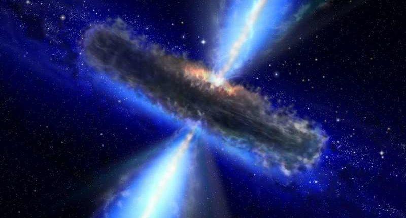 Впервые создана карта Вселенной на основе положения сверхмассивных черных дыр