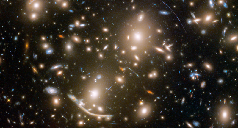Телескоп «Хаббл» запечатлел невероятное множество галактик