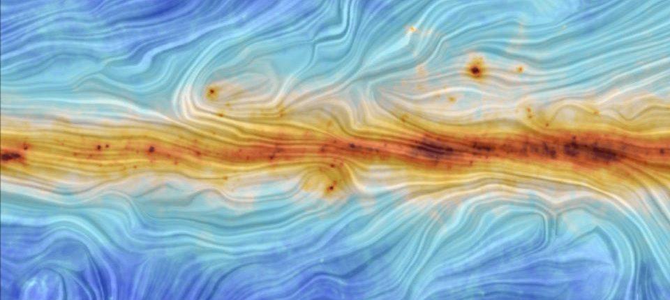 Обнаружен гигантский магнитный мост между галактиками